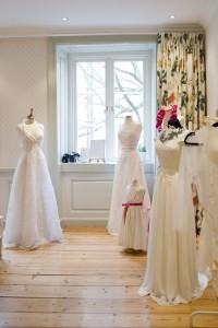 Bröllopsklänningar ateljé Stass