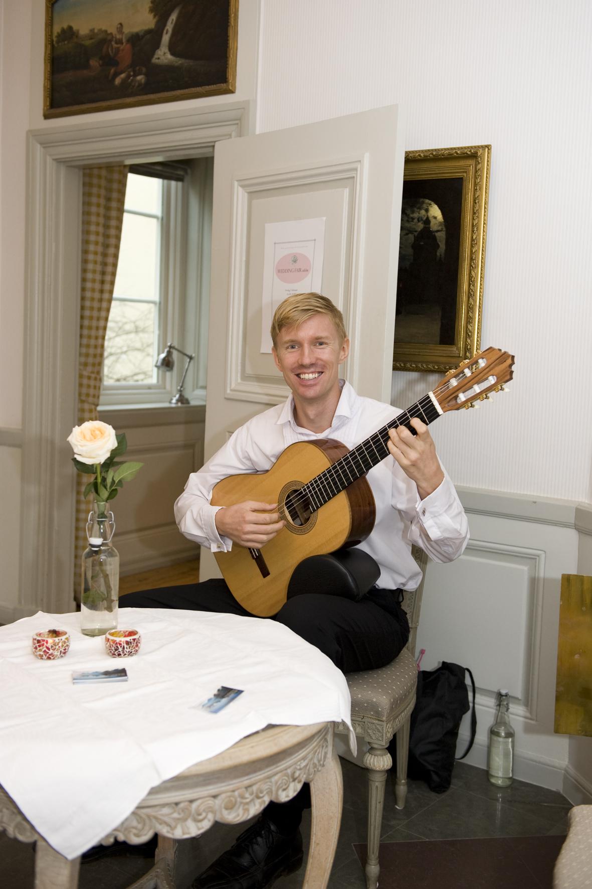 Gitarrist Johan Nilsson