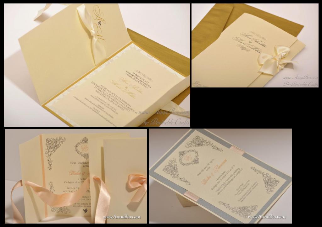 exklusiva inbjudningskort, inbjudningskort bröllop, vintage inbjudningskort, inbjudningskort, vintage bröllopskort, luxury inbjudnigskort