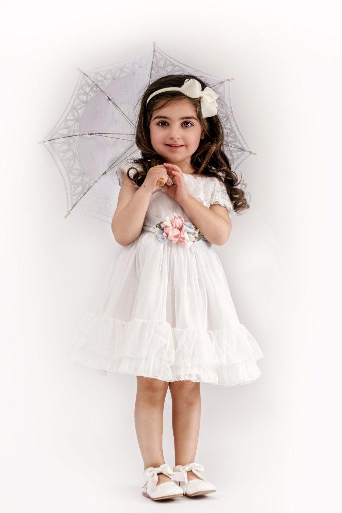 Floralin & Junior - festlänningar till barn
