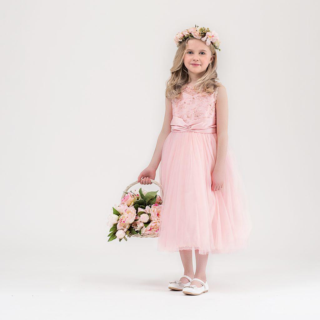 Floralin & Junior - vackra brudnäbbklänningar 0-14år